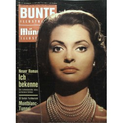Bunte Illustrierte Nr.37 / 12 September 1962 - Nadja Tiller