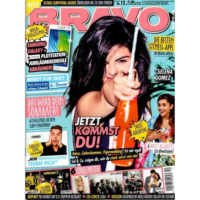 BRAVO Nr.12 / 27 Mai 2015 - Selena Gomez, jetzt kommst Du