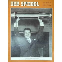 Der Spiegel Nr.7 / 12 Februar 1958 - Wernher von Braun