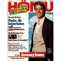 HÖRZU 8 / 27 Februar bis 5 März 1993 - Jeremy Irons