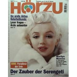 HÖRZU 7 / 18 bis 24 Februar 1995 - Marilyn Monroe