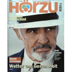 HÖRZU 8 / 25 Februar bis 3 März 1995 - Sean Connery