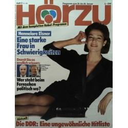 HÖRZU 3 / 20 bis 26 Januar 1990 - Hannelore Elsner