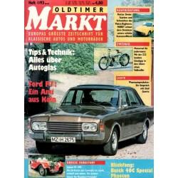 Oldtimer Markt Heft 1/Januar 1993 - Ford P7