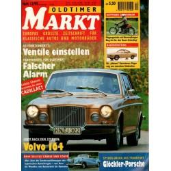 Oldtimer Markt Heft 12/Dezember 1995 - Volvo 164