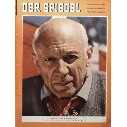 Der Spiegel Nr.52 / 26 Dezember 1956 - Pablo Picasso