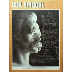 Der Spiegel Nr.5 / 29 Januar 1958 - Friedrich Nietzsche
