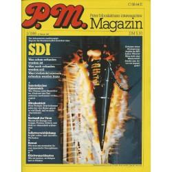 P.M. Ausgabe März 3/1986 - SDI