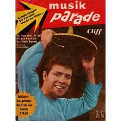 Musik Parade Nr. 32 / 15 März 1965 - Cliff Richard