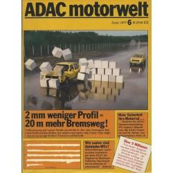 ADAC Motorwelt  Juni 1977 -...