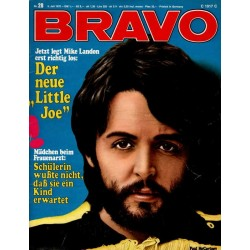 BRAVO Nr.28 / 6 Juli 1970 - Paul McCartney