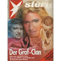 stern Heft Nr.27 / 27 Juni 1991 - Der Graf-Clan