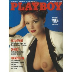 Playboy Nr.9 / September 1990 - Saskia Linssen