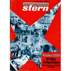 stern Heft / 22 August 1988 - Jubiläumsausgabe + Der Stern