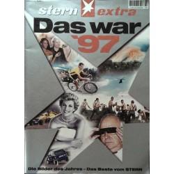 stern extra Heft / 8 Dezember 1997 - Das war 1997