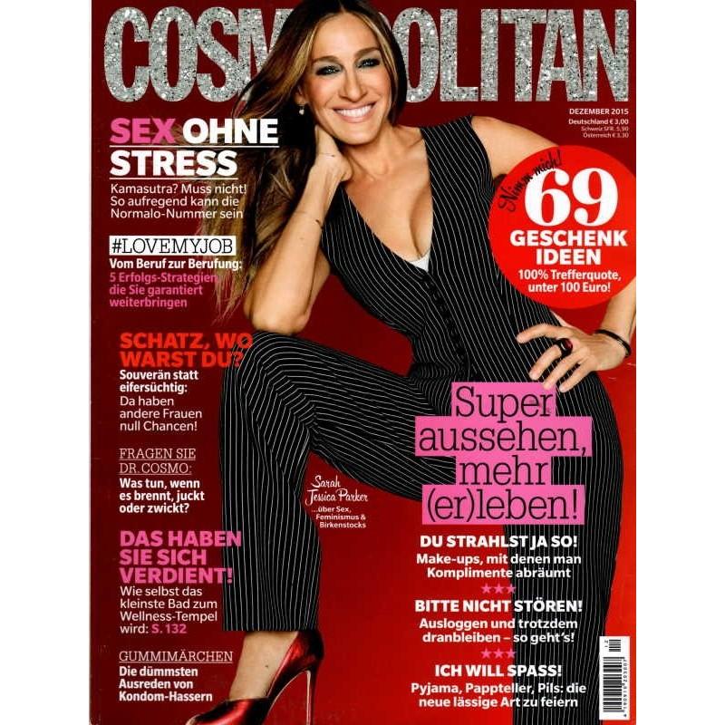 Cosmopolitan 12/Dezember 2015 - Sarah Jessica Parker