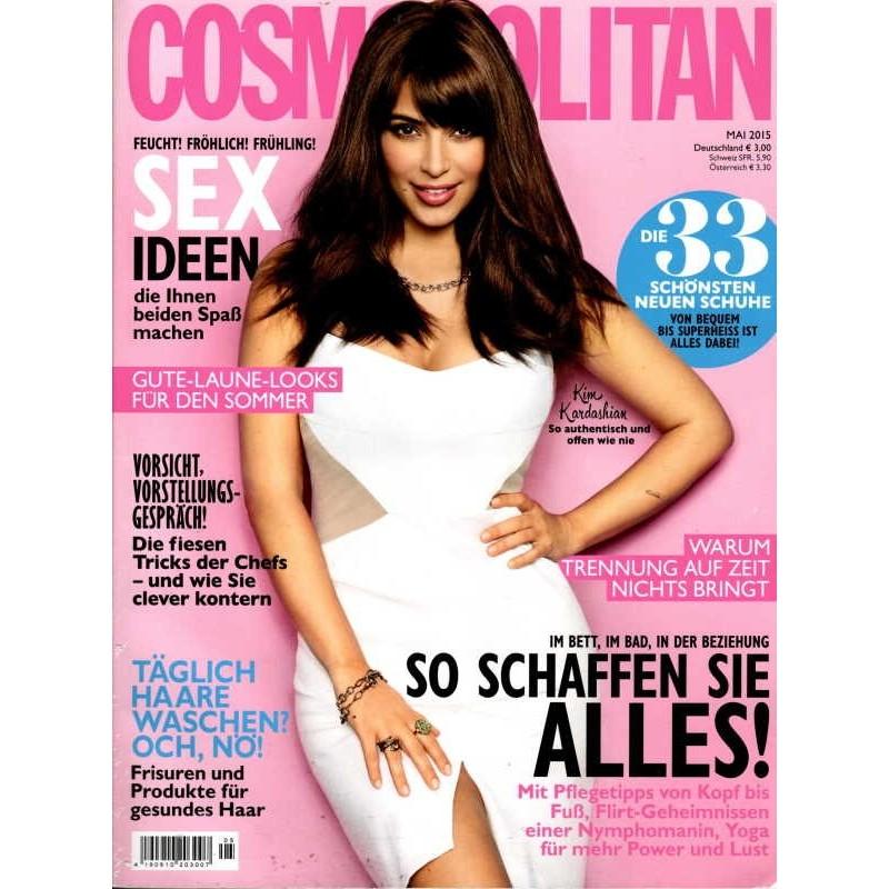Cosmopolitan 5/Mai 2015 - Kim Kardashian