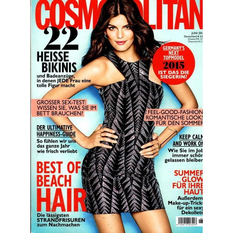Cosmopolitan 6/Juni 2015 - Vanessa von GNTM