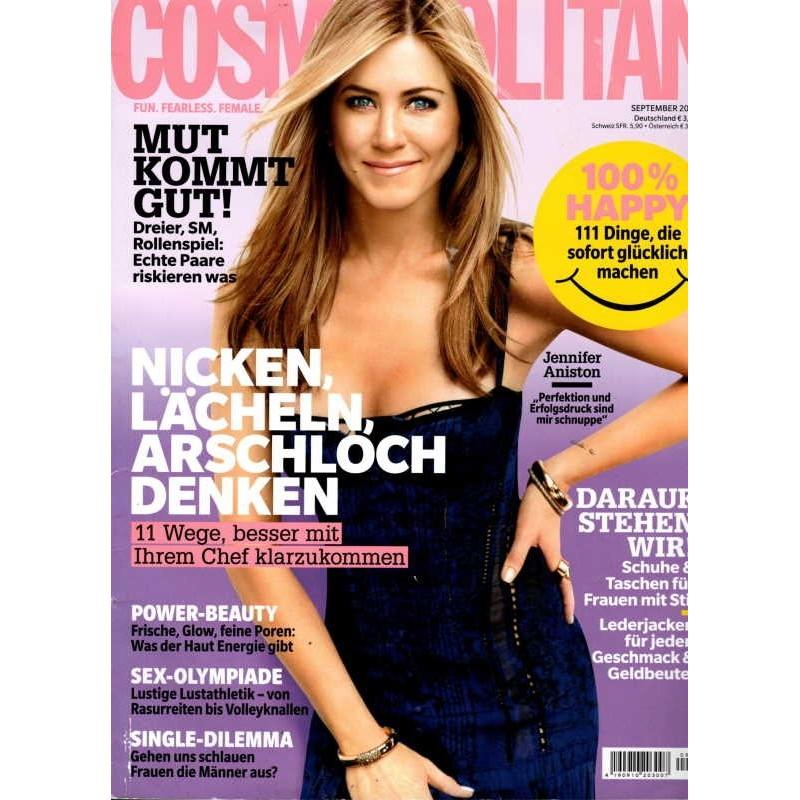 Cosmopolitan 9/September 2016 - Jennifer Aniston