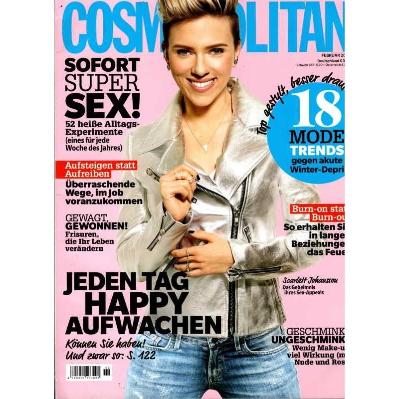 Cosmopolitan 2/Februar 2016 - Scarlett Johansson