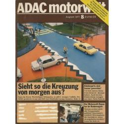 ADAC Motorwelt 8 / August 1977 - Sieht so die Kreuzung von morgen aus?