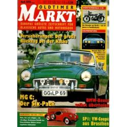 Oldtimer Markt Heft 8/August 1993 - MG C