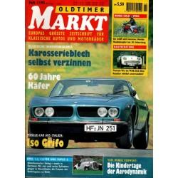 Oldtimer Markt Heft 11/November 1995 - Iso Grifo