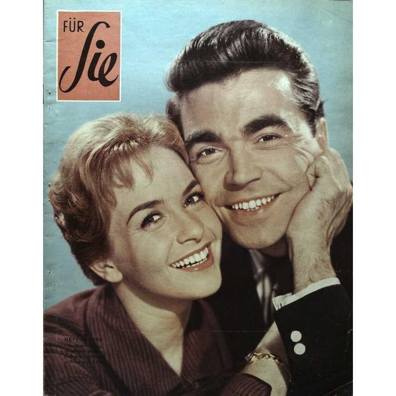 Für Sie Heft 4 / 1958 - Germaine Damar & Claus Biederstaedt