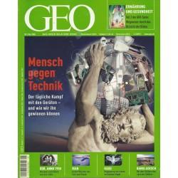 Geo Nr. 5 / Mai 2005 - Mensch gegen Technik