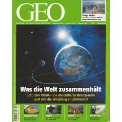 Geo Nr. 6 / Juni 2008 - Was die Welt zusammenhält