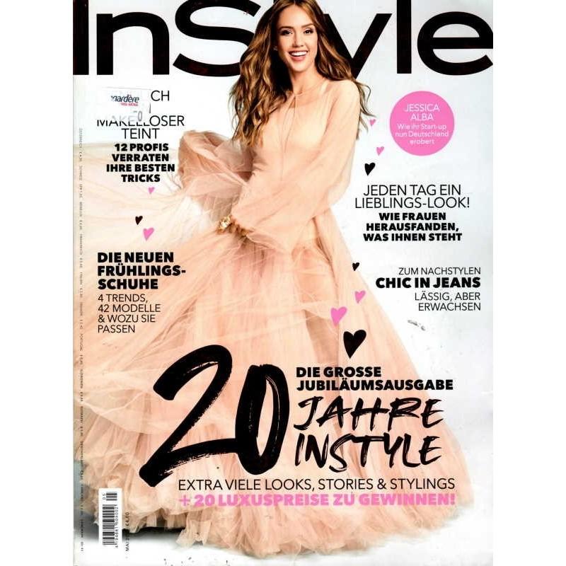 InStyle 5/Mai 2019 - Jessica Alba / 20 Jahre Instyle