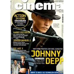 CINEMA 7/09 Juli 2009 - Johnny Depp