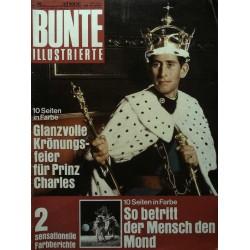 Bunte Illustrierte Nr.29 / 16 Juli 1969 - Prinz Charles