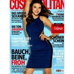 Cosmopolitan 7/Juli 2017 - Topmodel Celine Bethmann