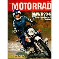 Das Motorrad Nr.1 / 11 Januar 1975 - BMW R90/6