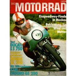 Das Motorrad Nr.7 / 5 April 1975 - Ducati SS 750