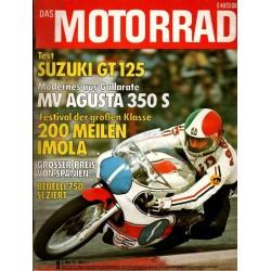 Das Motorrad Nr.9 / 3 Mai 1975 - Großer Preis von Spanien