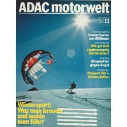 ADAC Motorwelt Heft.11 / November 1979 - Wintersport
