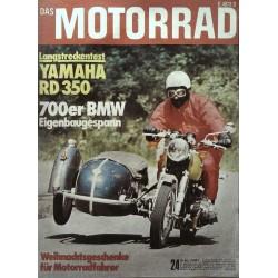 Das Motorrad Nr.24 / 30 November 1974 - Eigenbaugespann