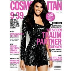 Cosmopolitan 7/Juli 2010 - Topmodel Alisar Ailabouni