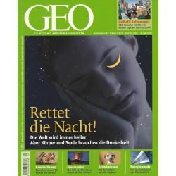 Geo Nr. 4 / April 2011 - Rettet die Nacht!