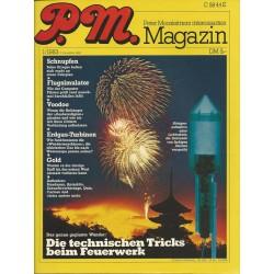 P.M. Ausgabe Januar 1/1983 - Tricks beim Feuerwerk