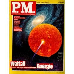 P.M. Ausgabe Juni 6/1992 - Weltall Energie