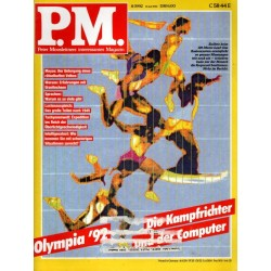 P.M. Ausgabe August 8/1992 - Olympia 92