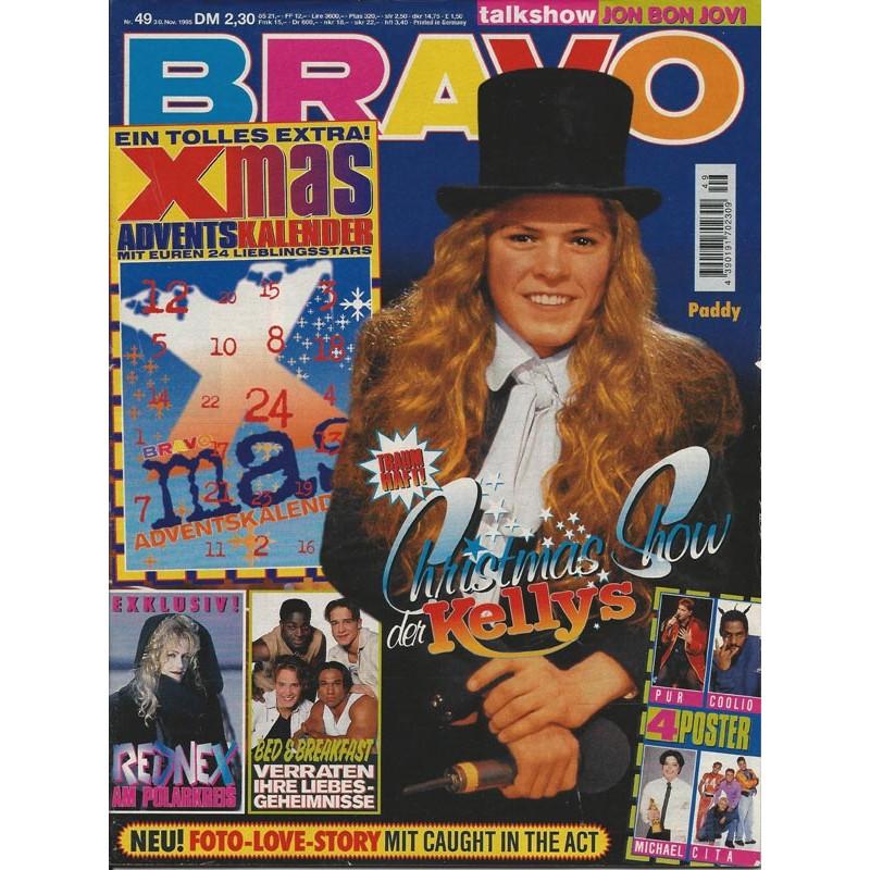 BRAVO Nr.49 / 30 November 1995 - Chistmas Show der Kellys