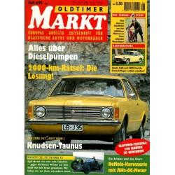 Oldtimer Markt Heft 6/Juni 1995 - Knudsen Taunus