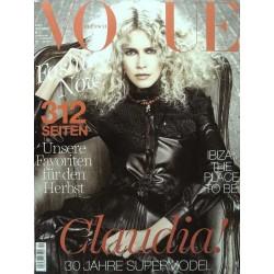 Vogue 9/September 2017 - Claudia Schiffer