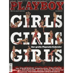 Playboy Nr.1 / Januar 2005 - Girls, Girls, Girls