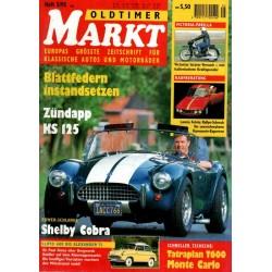 Oldtimer Markt Heft 5/Mai 1995 - Shelby Cobra