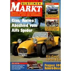 Oldtimer Markt Heft 7/Juli 1993 - Lotus & Co